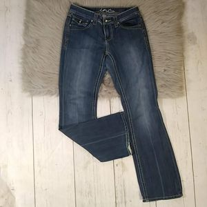 Inc Denim Size 4 Regular Fit Boot Leg Jeans